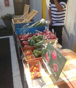 野菜の直売の画像